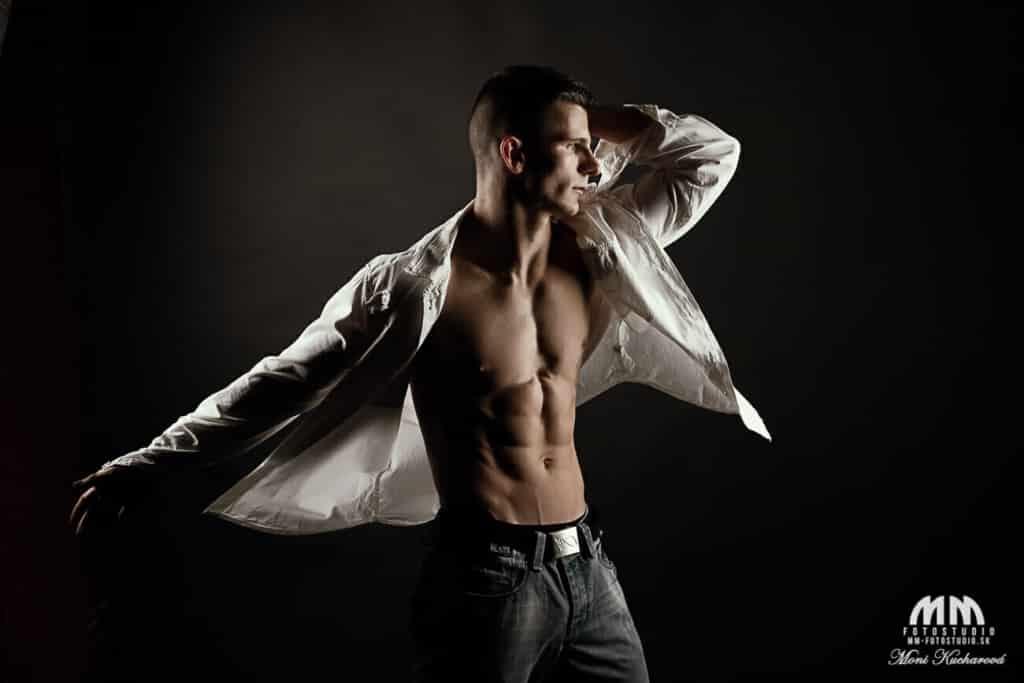 fotenie mužov fotenie pánov profesionálne fotenie módne atelier fotoštúdio